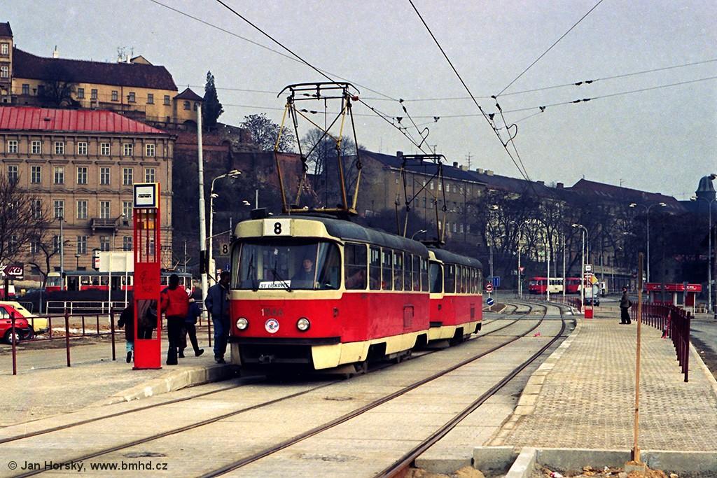 Fotogalerie » ČKD Tatra T3 1546 | Brno | střed | Nové sady | Soukenická