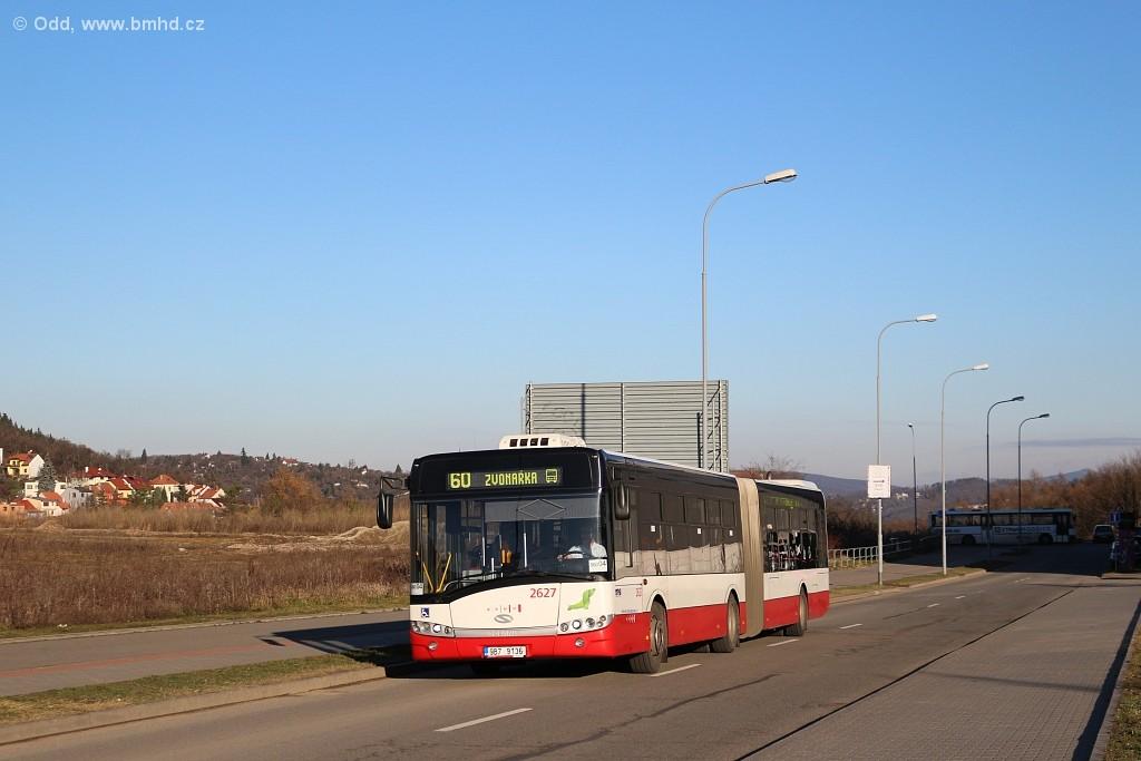 Fotogalerie » Solaris Urbino 18 III 9B7 9136 2627   Brno   Bohunice   Netroufalky