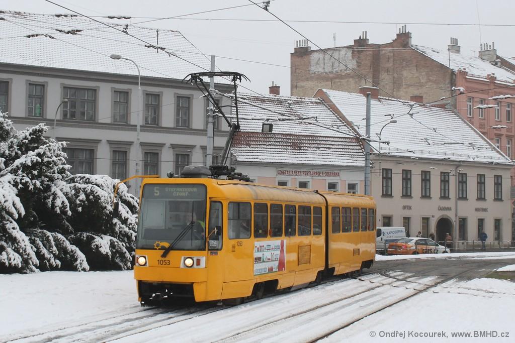 Fotogalerie » ČKD Tatra K2R 1053 | Brno | Staré Brno | Mendlovo náměstí