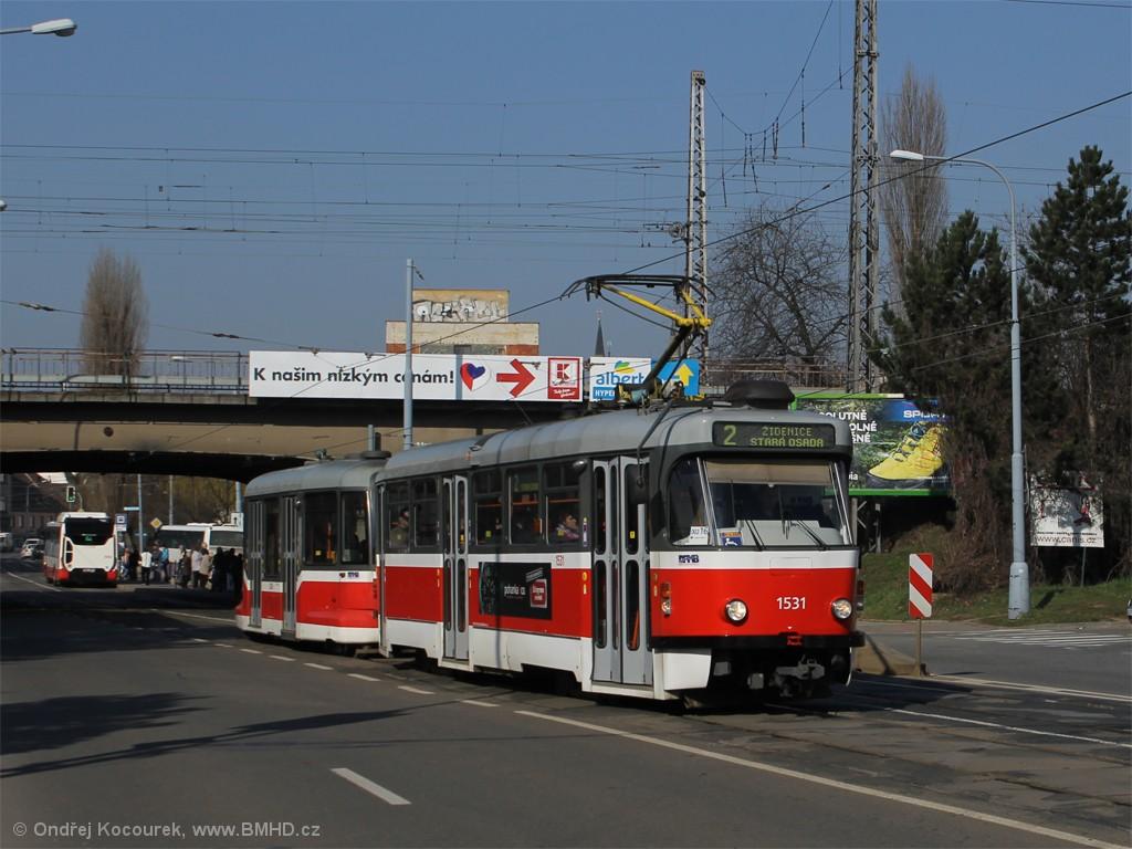 Fotogalerie » Pragoimex T3R.EV 1531   Pragoimex VV60LF 1304   Brno   Židenice   Bubeníčkova
