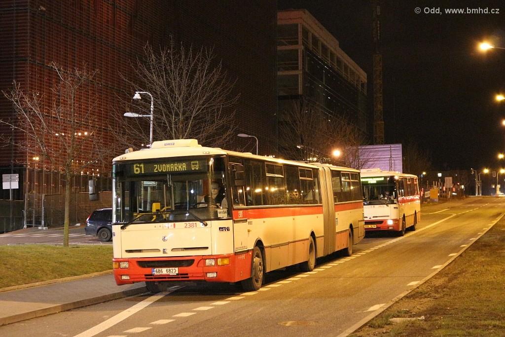 Fotogalerie » Karosa B961E.1970 6B6 6823 2381 | Karosa B931E.1707 BSH 16-34 7472 | Brno | Bohunice | Akademická