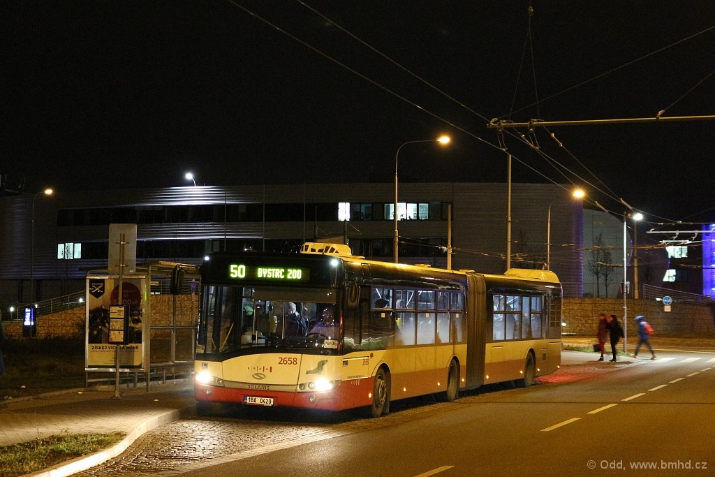Fotogalerie » Solaris Urbino 18 III 1BA 0420 2658 | Brno | Bohunice | Kamenice | Univerzitní kampus