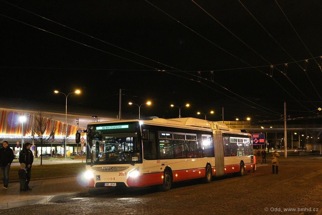 Fotogalerie » Iveco Urbanway 18M CNG 1BT 8143 2023   Brno   Bohunice   Netroufalky   Nemocnice Bohunice