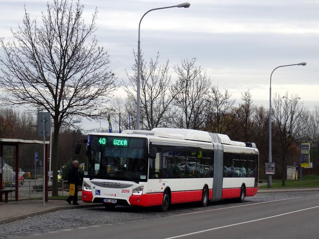 Fotogalerie » Iveco Urbanway 18M CNG 1BT 8139 2019   Brno   Brněnské Ivanovice   Kaštanová   Ráječek