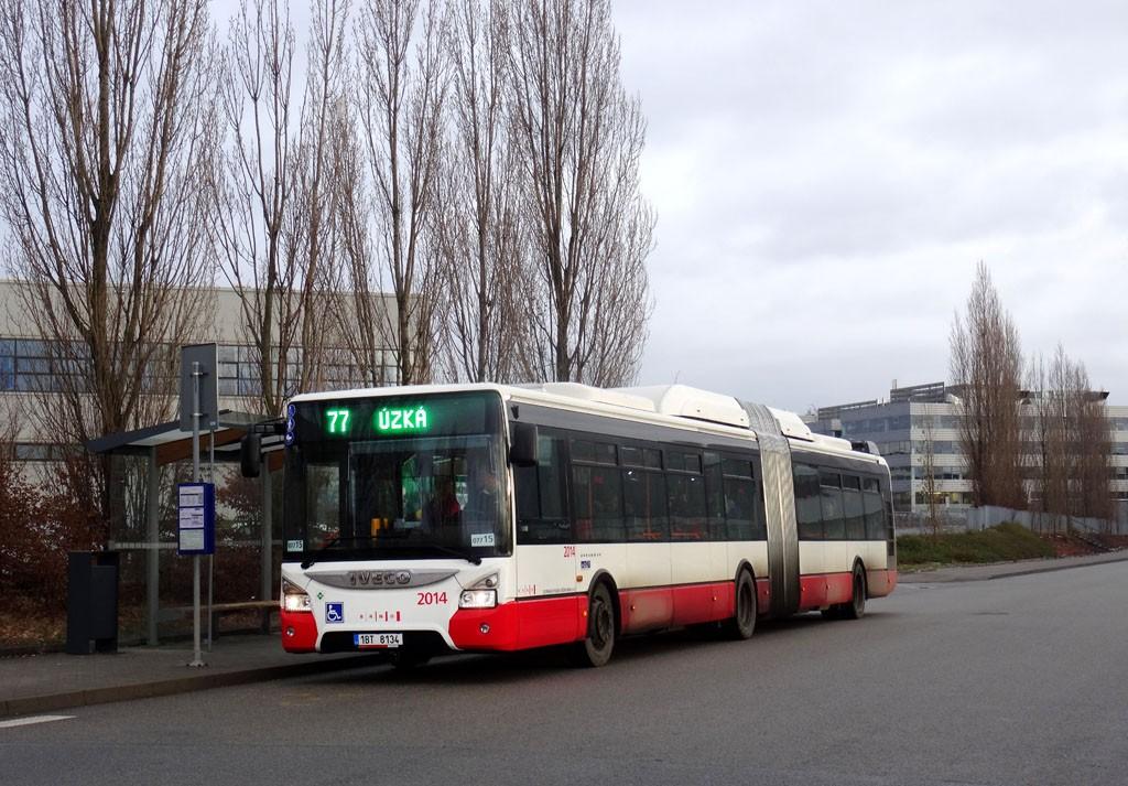 Fotogalerie » Iveco Urbanway 18M CNG 1BT 8134 2014 | Brno | Slatina | Tuřanka | Černovická terasa I