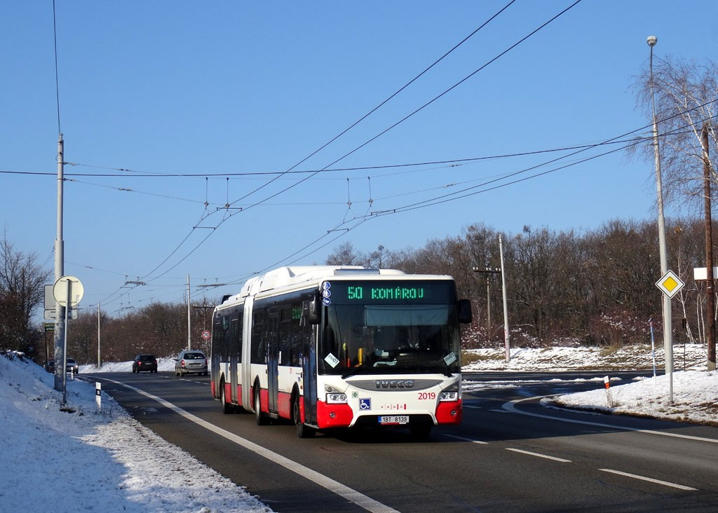 Fotogalerie » Iveco Urbanway 18M CNG 1BT 8139 2019 | Brno | Kohoutovice | Chironova