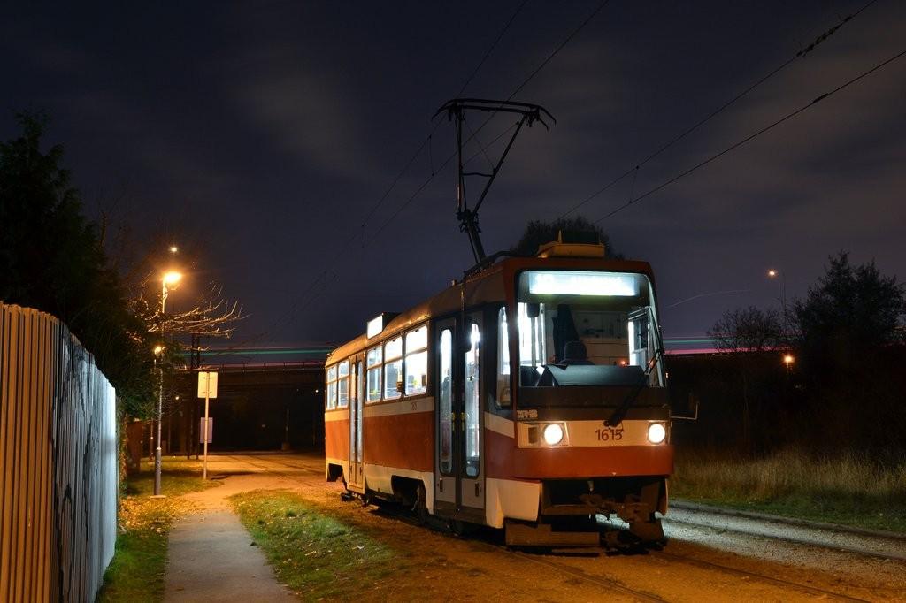 Fotogalerie » ČKD Tatra T3R 1615 | Brno | Slatina | Podstránská | Podstránská