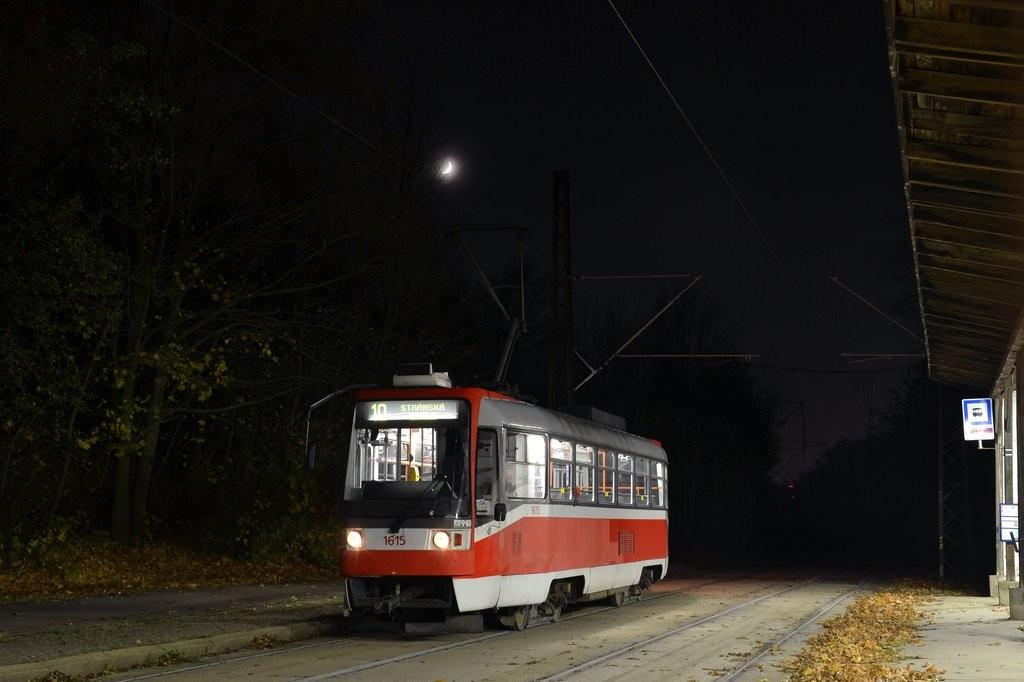 Fotogalerie » ČKD Tatra T3R 1615 | Brno | Stránská skála | Stránská skála
