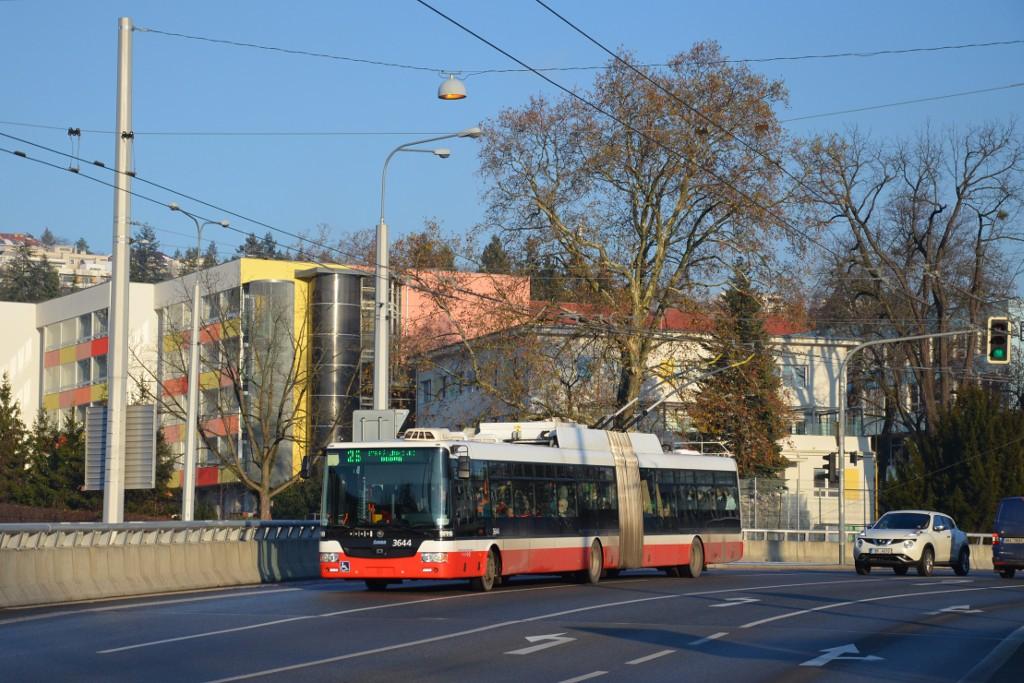 Fotogalerie » Škoda 31Tr 3644 | Brno | Pisárky | Pisárecká