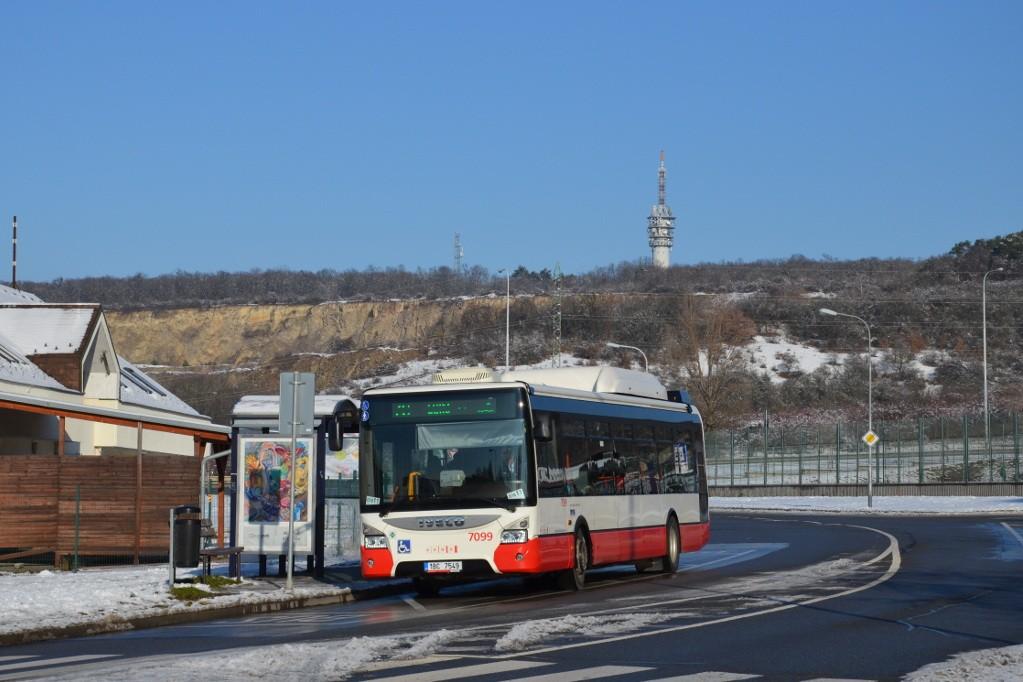 Fotogalerie » Iveco Urbanway 12M CNG 1BC 7549 7099 | Brno | Líšeň | Podruhova | Horníkova