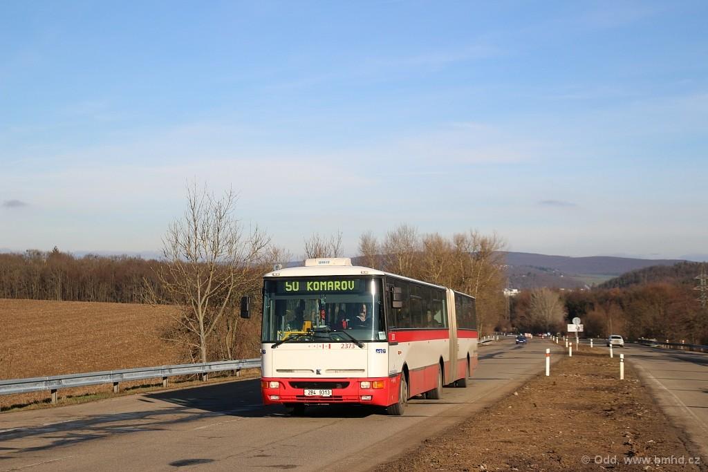 Fotogalerie » Karosa B961E.1970 2B4 9313 2373 | Brno | Žebětín | Stará Dálnice