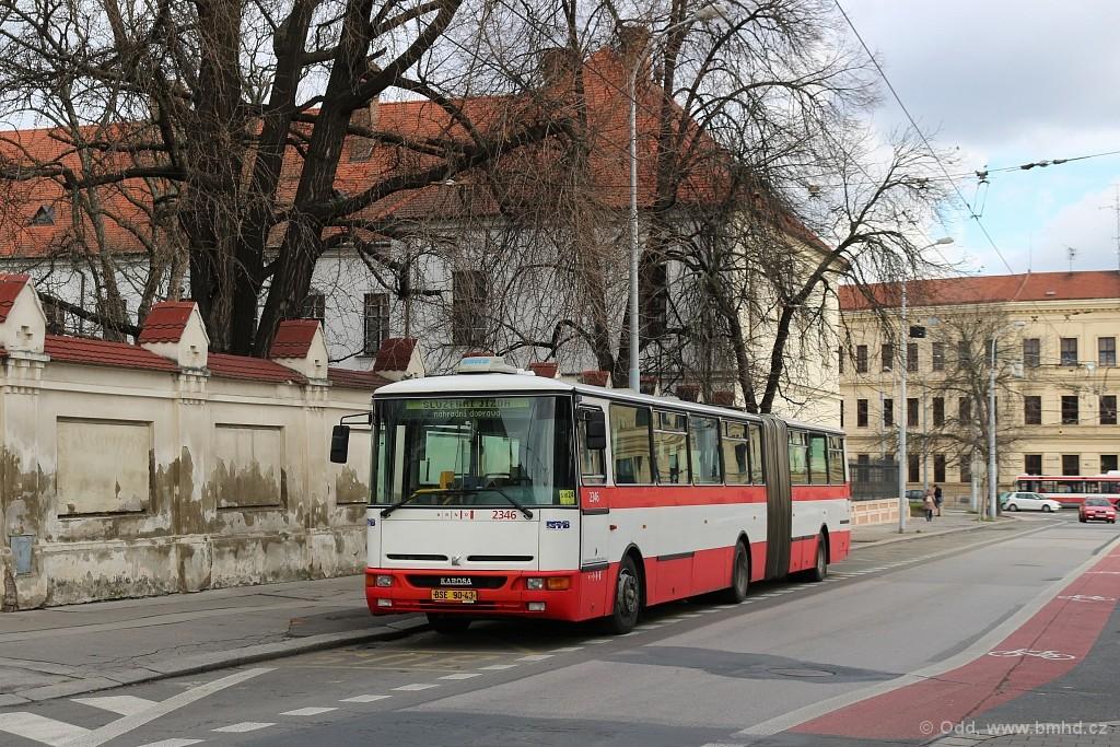 Fotogalerie » Karosa B941E.1962 BSE 90-43 2346 | Brno | Staré Brno | Mendlovo náměstí | Mendlovo náměstí