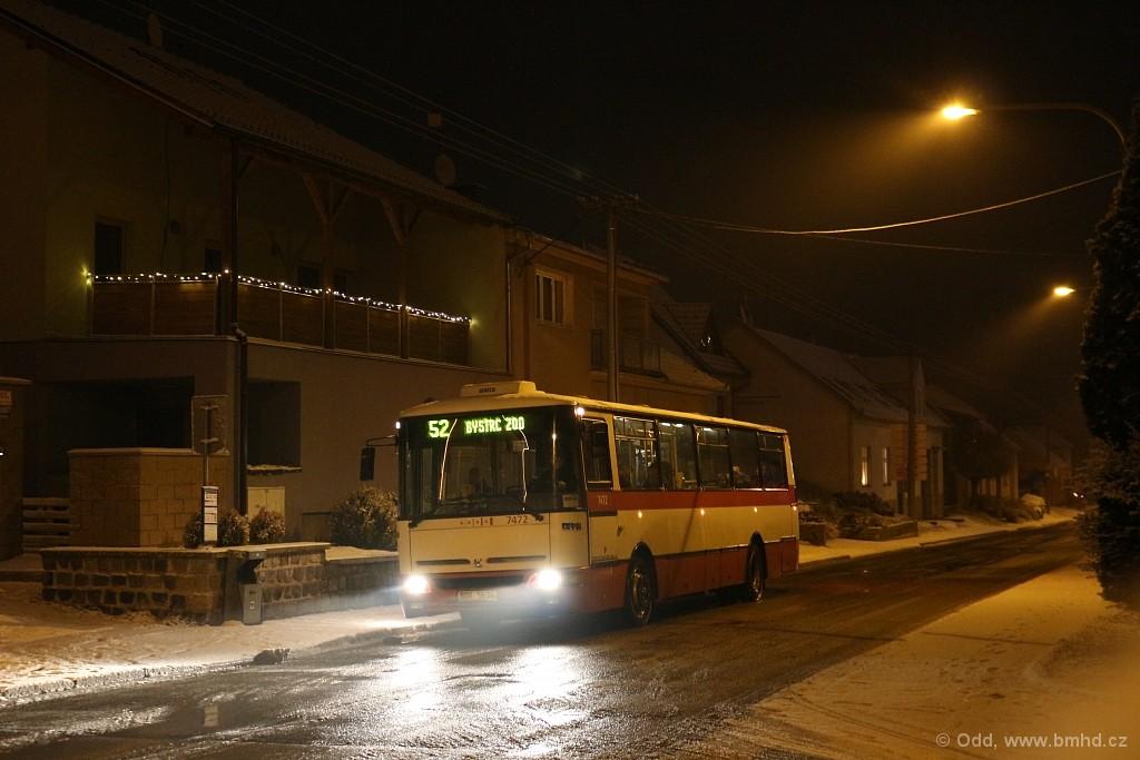 Fotogalerie » Karosa B931E.1707 BSH 16-34 7472 | Brno | Žebětín | Kohoutovická | Kohoutovická