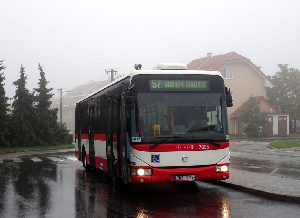 Fotogalerie » Irisbus Crossway LE 12M 7B3 3916 7806 | Brno | Soběšice | Zeiberlichova | Klarisky