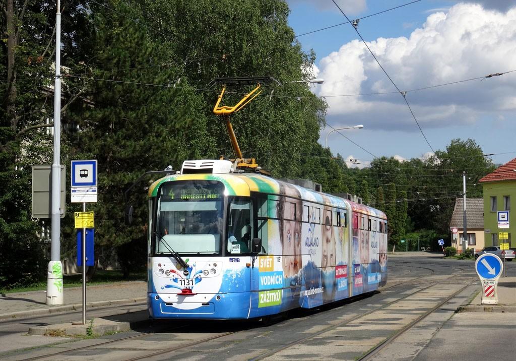 Fotogalerie » Pragoimex VarioLF2R.E 1131 | Brno | Maloměřice | Dolnopolní | Maloměřický most
