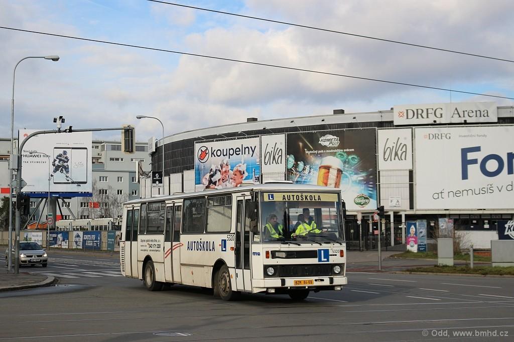 Fotogalerie » Karosa B732.1654.3 BSC 39-59 5320 | Brno | Staré Brno | Poříčí