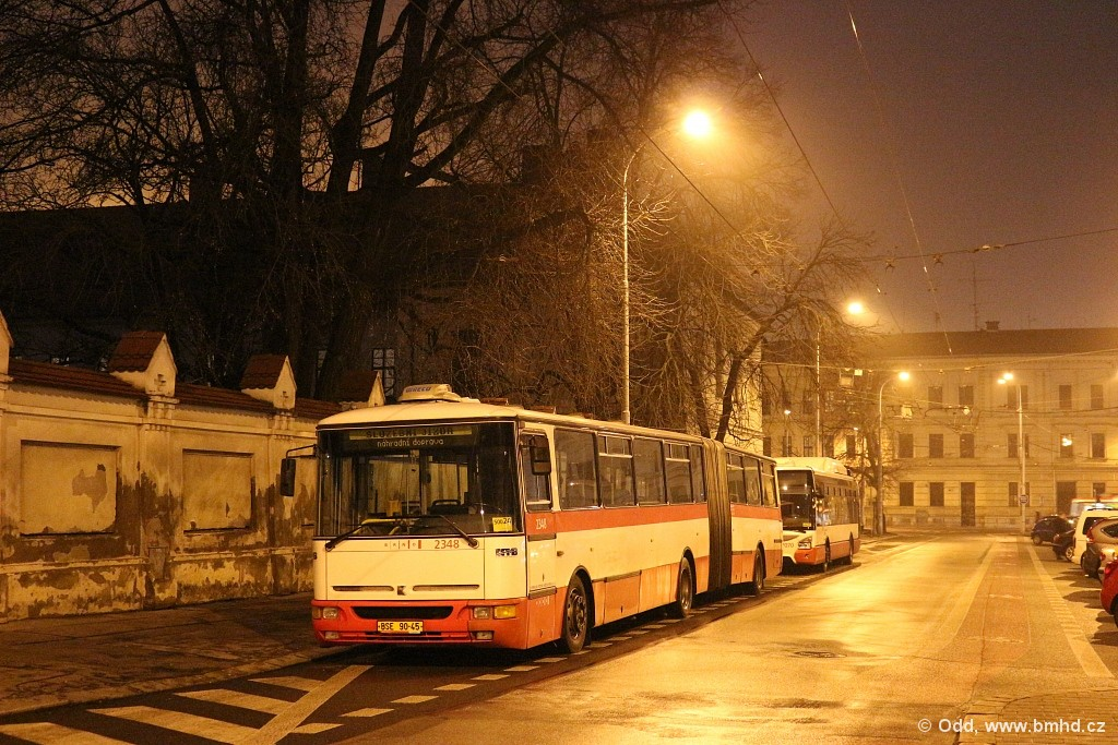 Fotogalerie » Karosa B941E.1962 BSE 90-45 2348 | Brno | Staré Brno | Mendlovo náměstí | Mendlovo náměstí
