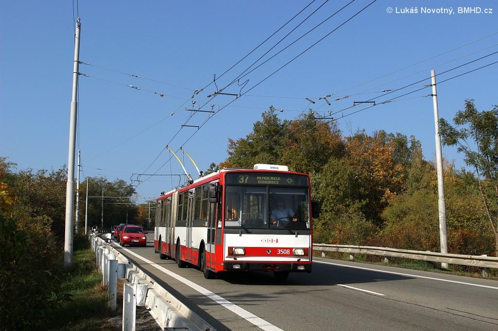 Fotogalerie » Škoda 15TrM 3508 | Brno | Nový Lískovec | Chironova