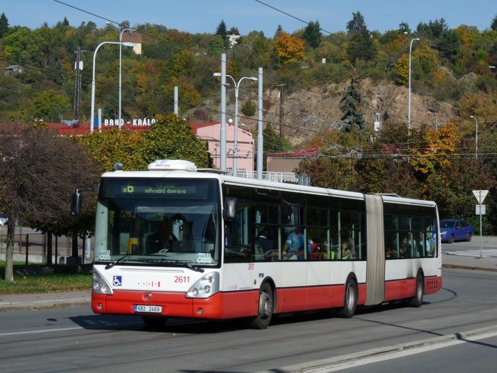 Fotogalerie » Irisbus Citelis 18M 6B2 2469 2611 | Brno | Královo Pole | Kosmova