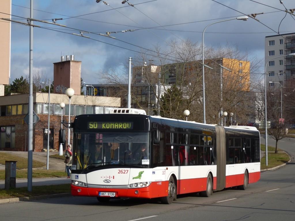 Fotogalerie » Solaris Urbino 18 III 9B7 9136 2627 | Brno | Bohunice | Osová