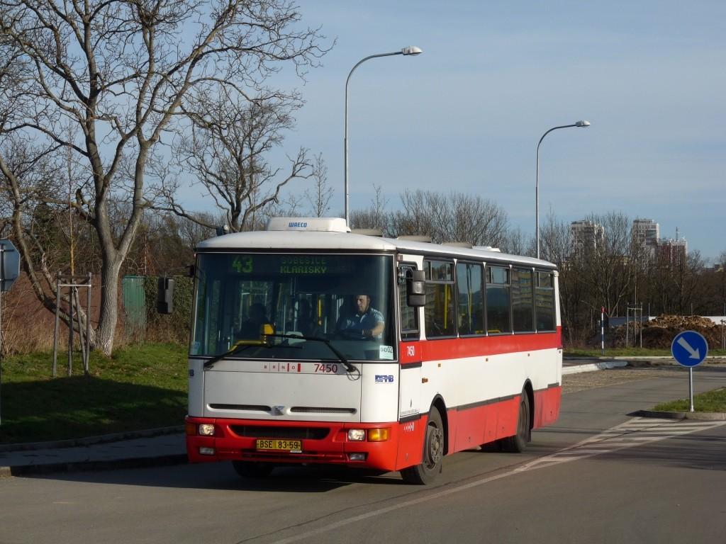 Fotogalerie » Karosa B931E.1707 BSE 83-59 7450 | Brno | Královo pole | Gustava Broma