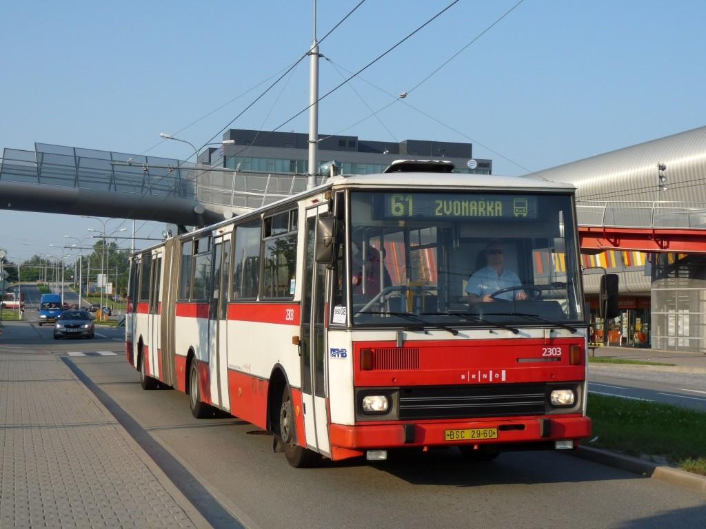 Fotogalerie » Karosa B741.1916 BSC 29-60 2303 | Brno | Bohunice | Netroufalky