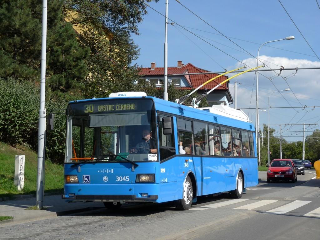 Fotogalerie » Škoda 21Tr 3045 | Brno | Komín | Bystrcká