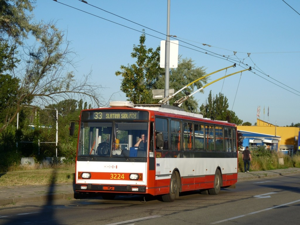Fotogalerie » Škoda 14TrR 3224 | Brno | Slatina | Hviezdoslavova