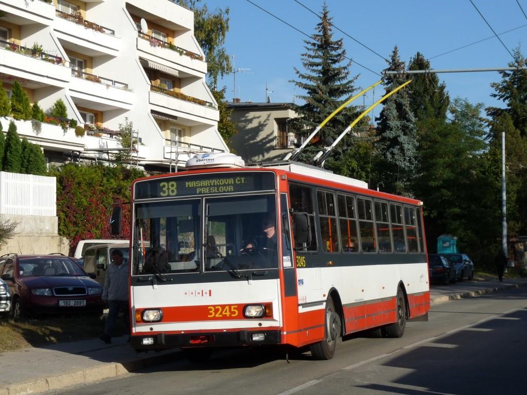 Fotogalerie » Škoda 14TrR 3245 | Brno | Masarykova čtvrť | Preslova | Marie Pujmanové