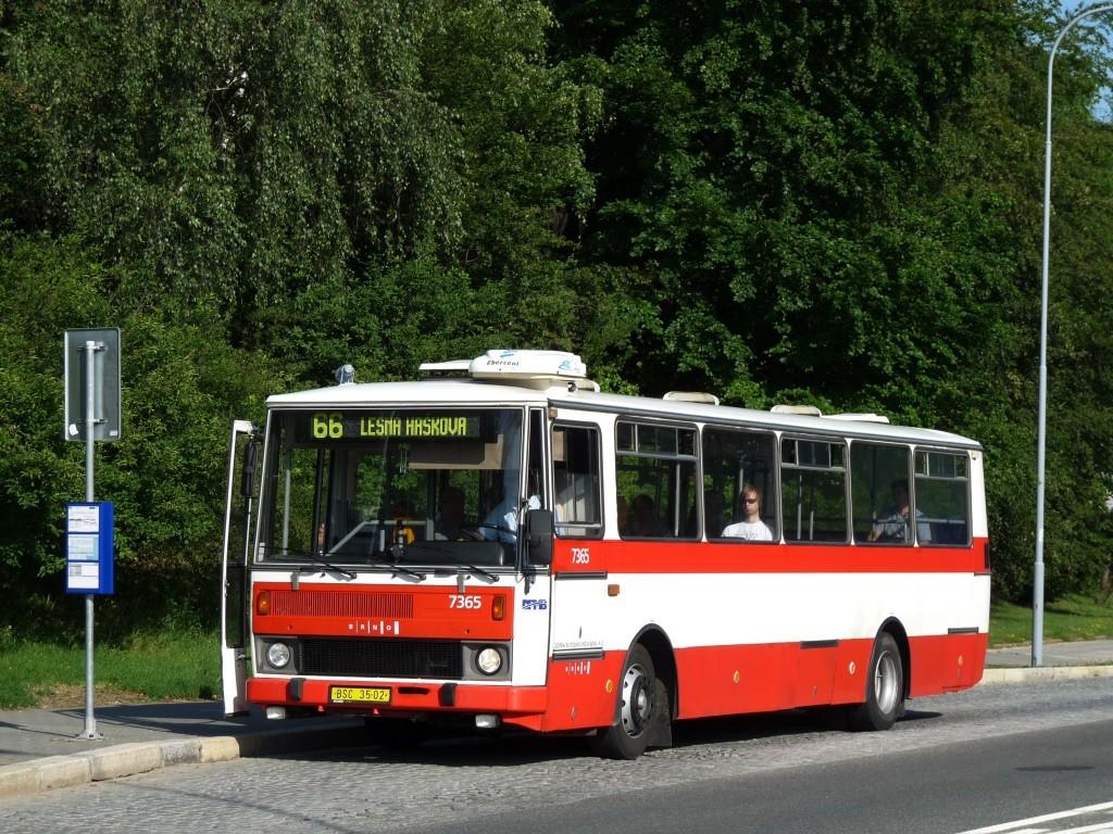 Fotogalerie » Karosa B732.1654 BSC 35-02 7365 | Brno | Lesná | Okružní | Slavíčkova