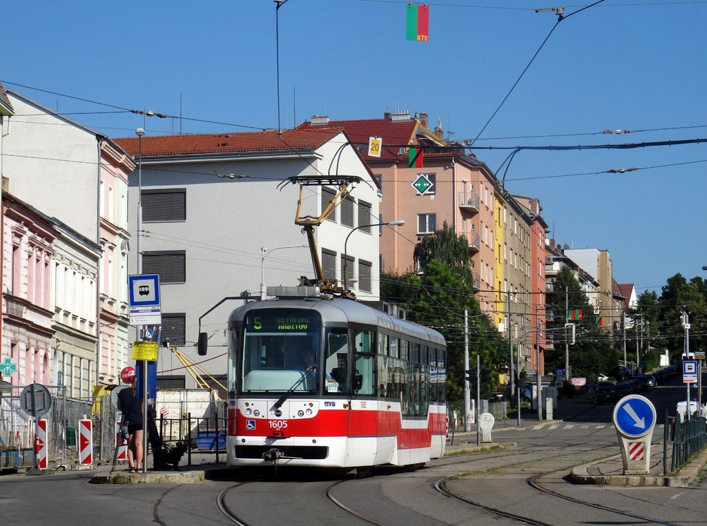 Fotogalerie » Pragoimex VarioLFR.E 1605 | Brno | Černá Pole | Jugoslávská | Jugoslávská