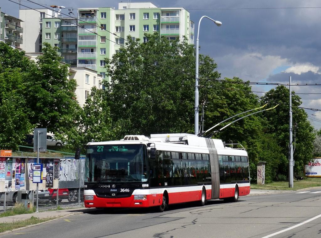 Fotogalerie » Škoda 31Tr 3646 | Brno | Vinohrady | Věstonická | Bořetická