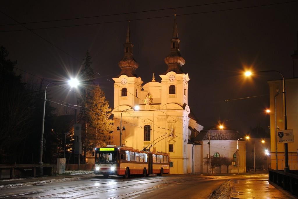 Fotogalerie » Škoda 15TrM 3506 | Brno | Židenice | Zábrdovická