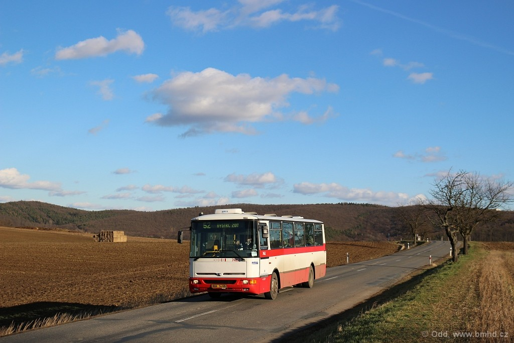 Fotogalerie » Karosa B931E.1707 BSH 14-58 7462 | Brno | Žebětín | Kohoutovická