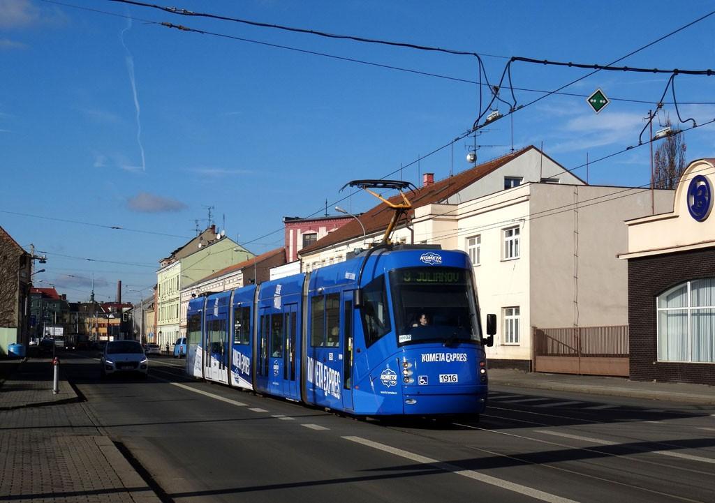 Fotogalerie » Škoda 13T4 1916 | Brno | Černovice | Olomoucká