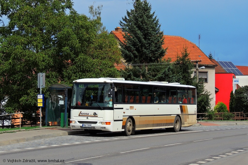 Fotogalerie » Karosa C954E.1360 3B4 7939   Brno   Bosonohy   Pražská   Hoštická