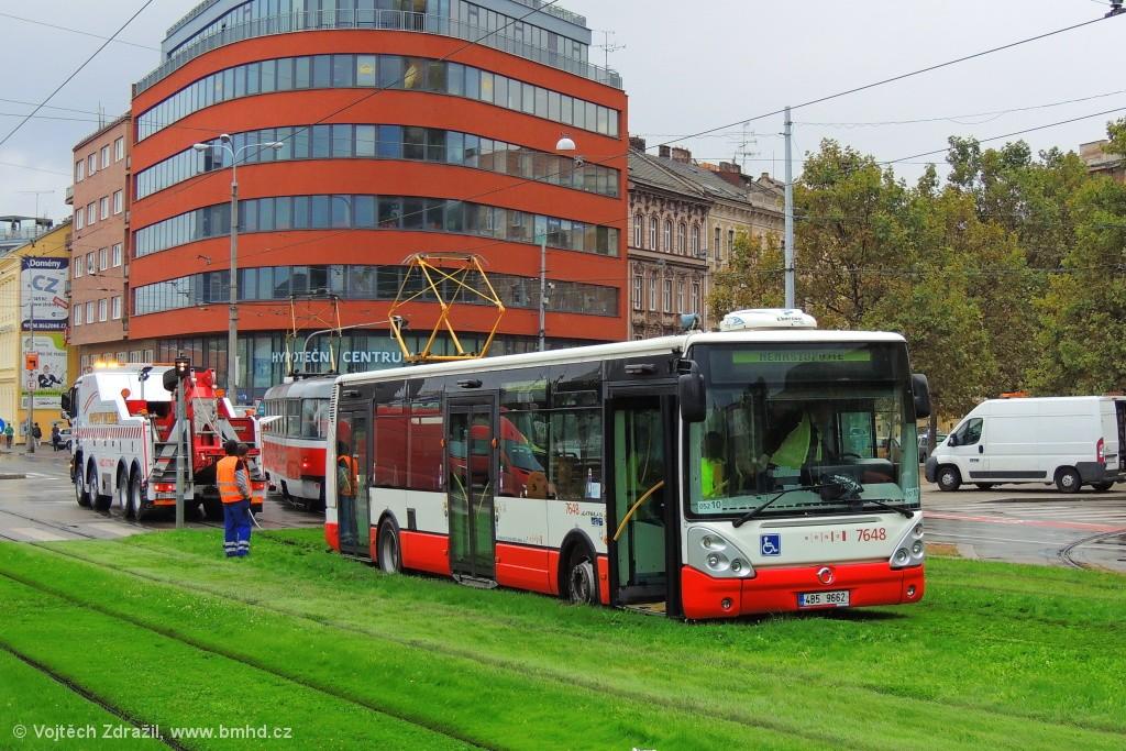 Fotogalerie » Irisbus Citelis 12M 4B5 9662 7648   Brno   Staré Brno   Nové Sady
