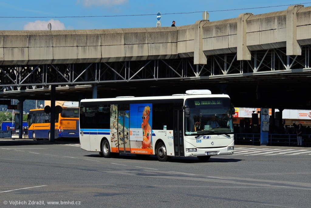 Fotogalerie » Irisbus Crossway LE 12M 5B3 4318   Brno   Trnitá   ÚAN Zvonařka