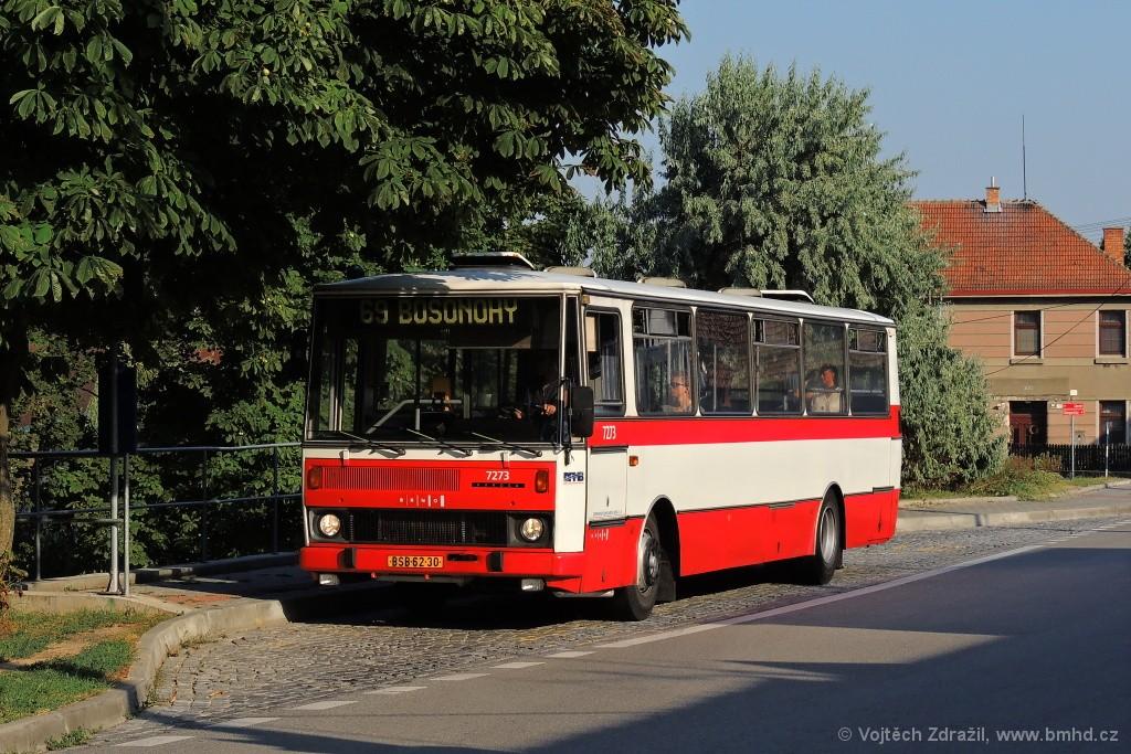 Fotogalerie » Karosa B732.40 BSB 62-30 7273 | Brno | Bosonohy | Hoštická | Hoštická