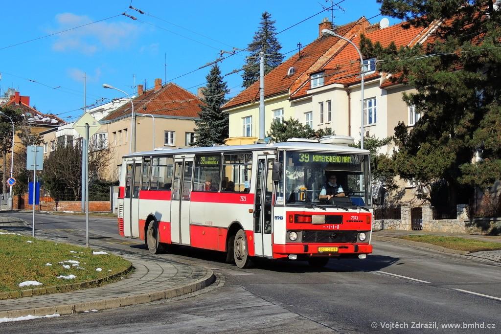 Fotogalerie » Karosa B732.1654.3 BSC 38-61 7373   Brno   Masarykova čtvrť   Barvičova