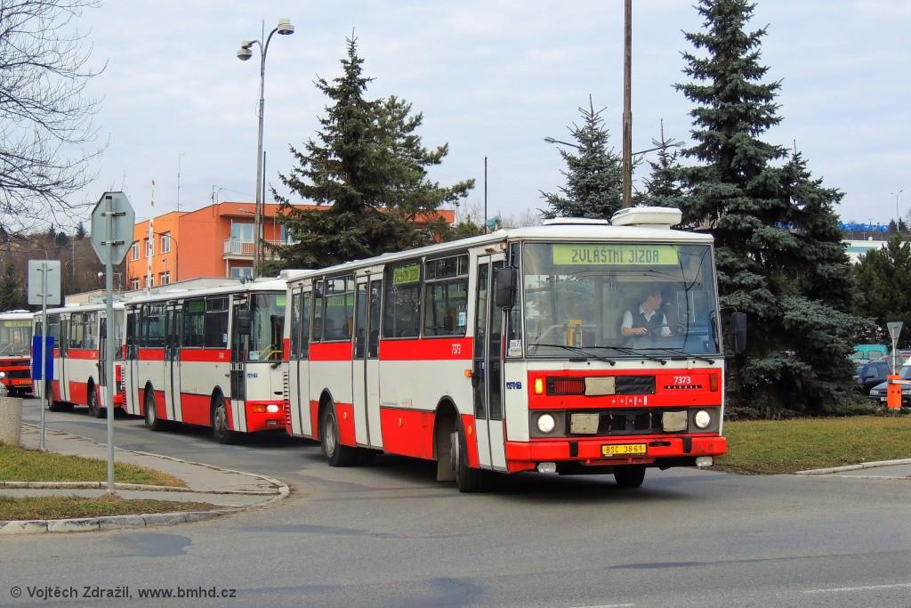 Fotogalerie » Karosa B732.1654.3 BSC 38-61 7373 | Brno | Slatina | Hviezdoslavova