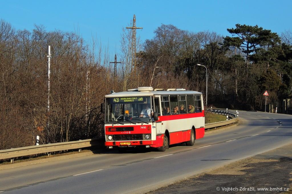 Fotogalerie » Karosa B731.1669 BSC 69-08 7410 | Brno | Královo pole | Kociánka