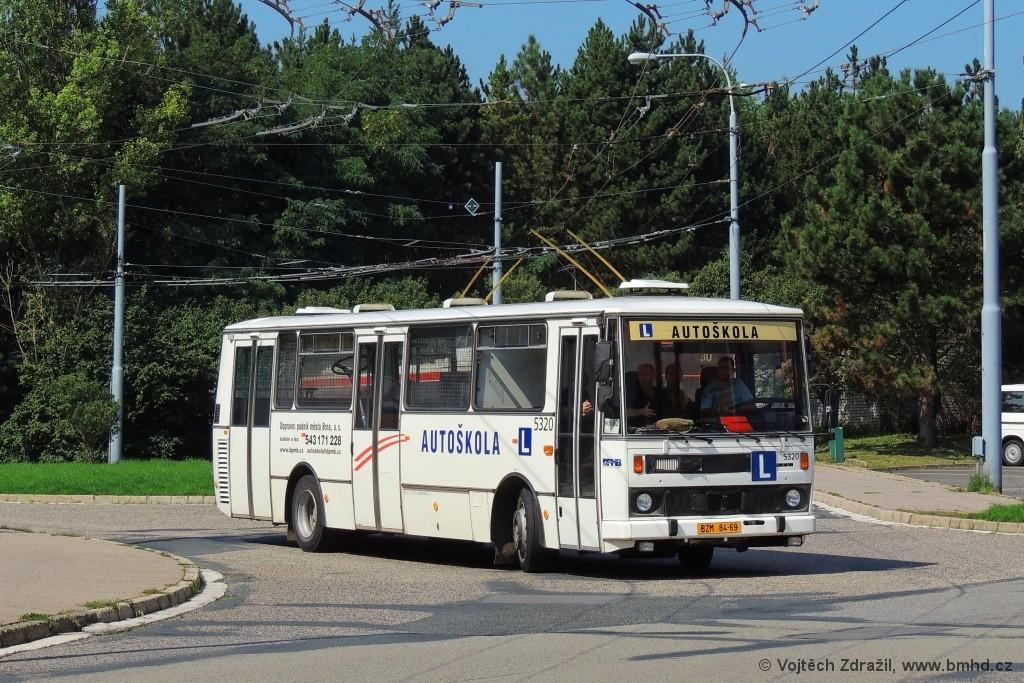 Fotogalerie » Karosa B732.1654.3 BZM 84-69 5320 | Brno | Bystrc | Černého