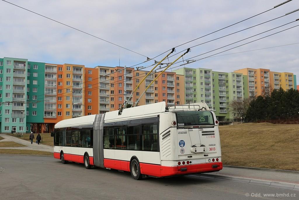Fotogalerie » Škoda 25Tr Citelis 1B 3613 | Brno | Starý Lískovec | Osová | Osová