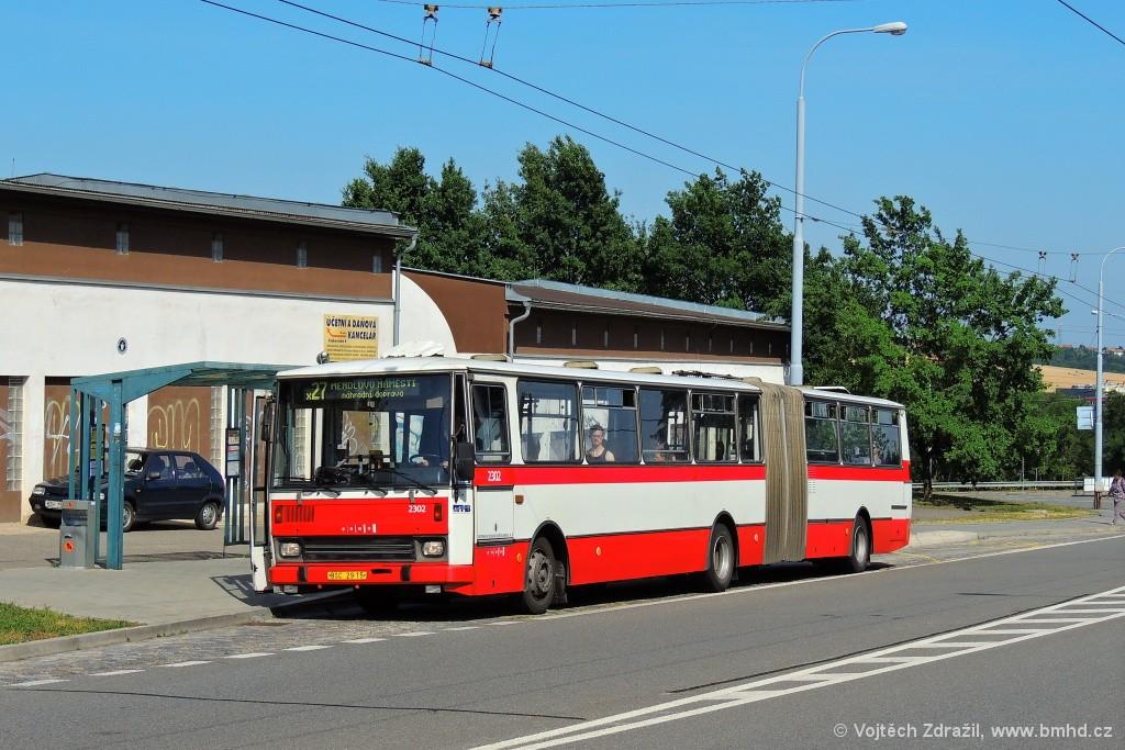 Fotogalerie » Karosa B741.1916 BSC 29-15 2302 | Brno | Vinohrady | Věstonická | Čejkovická