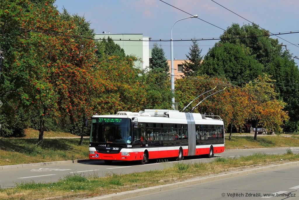 Fotogalerie » Škoda 31Tr 3630 | Brno | Nový Lískovec | Petra Křivky