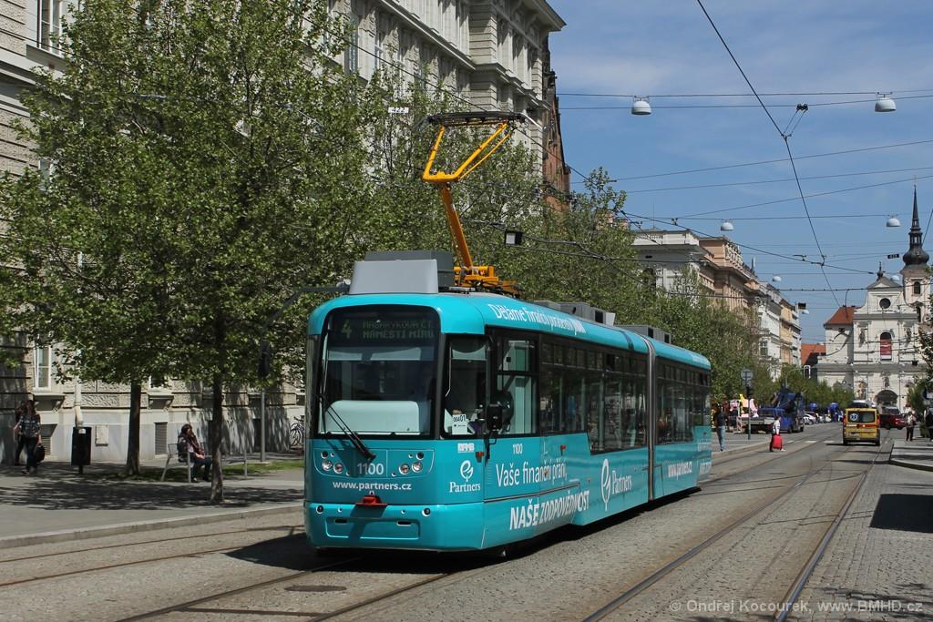Fotogalerie » Pragoimex VarioLF2R.E 1100 | Brno | střed | Komenského náměstí