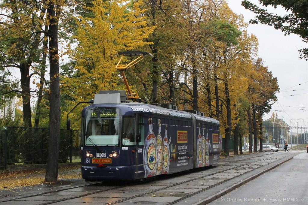 Fotogalerie » Pragoimex VarioLF2R.E 1106   Brno   Černá Pole   Lesnická