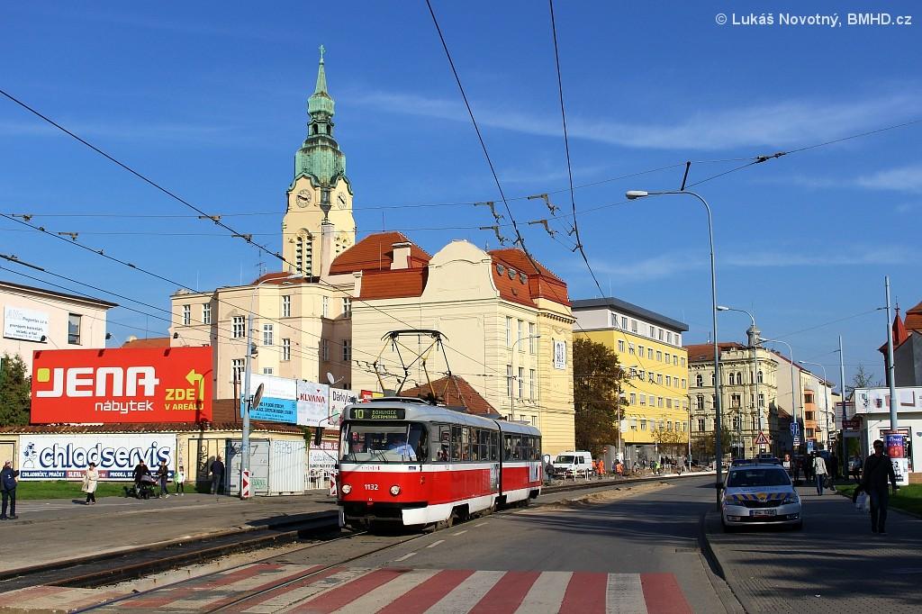 Fotogalerie » ČKD Tatra K2 1132 | Brno | střed | Křenová