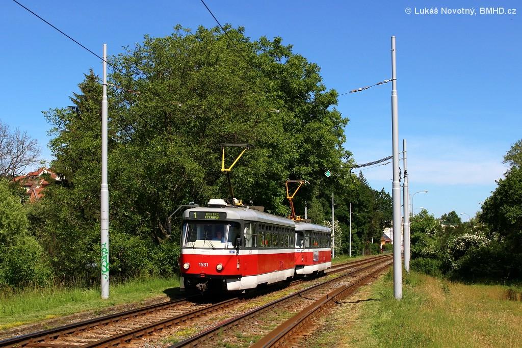 Fotogalerie » Pragoimex T3R.EV 1531 | Pragoimex T3R.EV 1562 | Brno | Komín | Branka | Branka